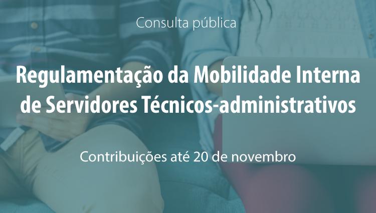 Cepe realiza consulta pública sobre mobilidade interna de técnicos administrativos